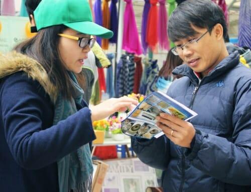 Carehome tham gia chợ phiên Dương Nội