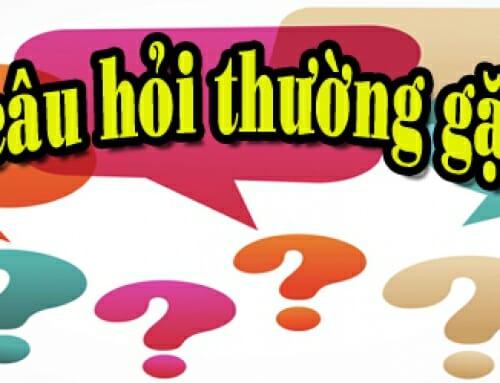 Các câu hỏi thường gặp của khách hàng