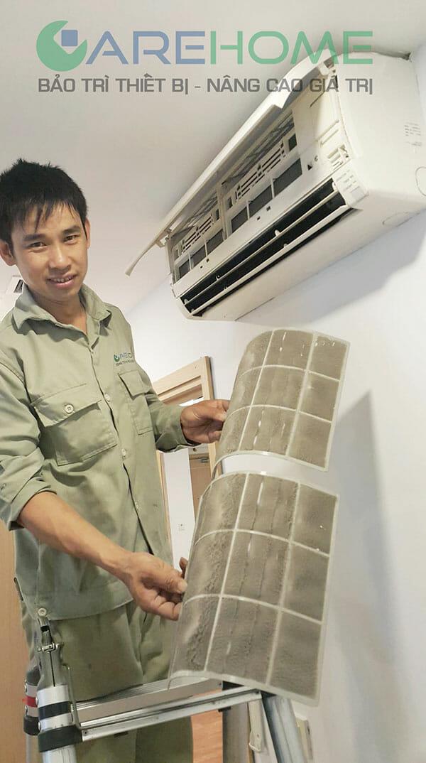 Quy trình bảo dưỡng vệ sinh điều hòa samsung