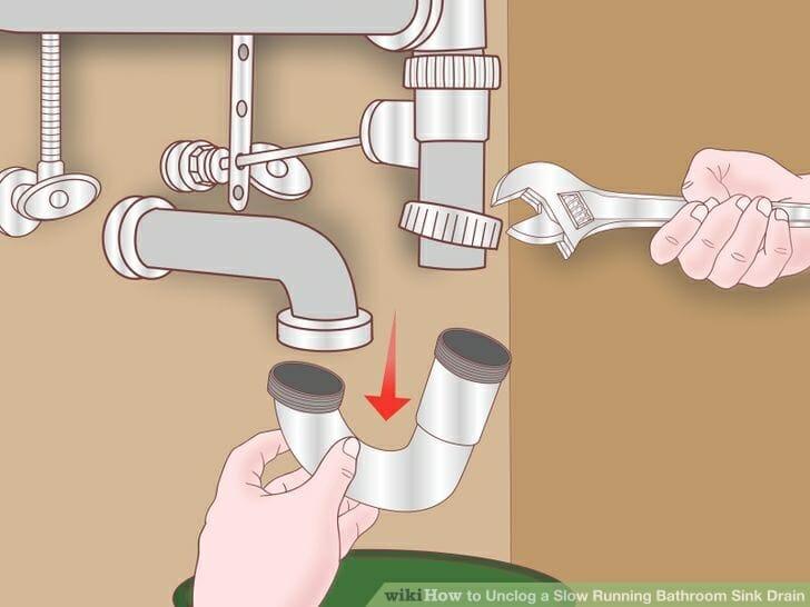 Tháo rời đường ống bằng Cờ lê mỏ lết đa năng