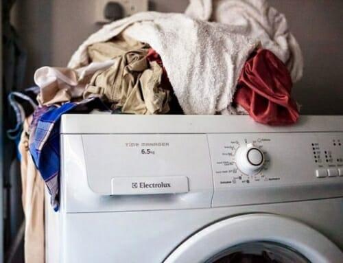 Những lỗi thường gặp trên máy giặt Electrolux