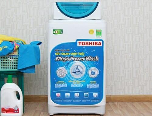 Khắc phục lỗi chớp đèn liên tục ở máy giặt Toshiba