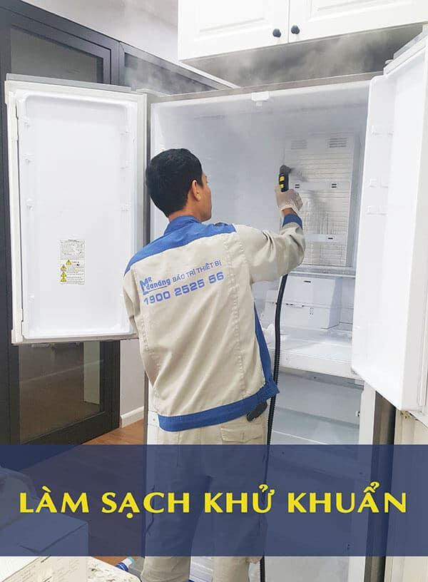 làm sạch khử khuẩn tủ lạnh 3
