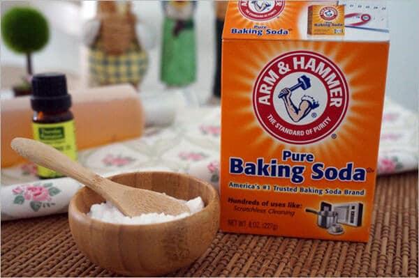 Sử dụng baking soda như một cách làm sạch áo quần nhanh chóng