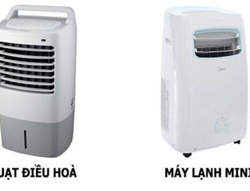 Điểm khác biệt giữa quạt điều hòa và máy lạnh di động mini