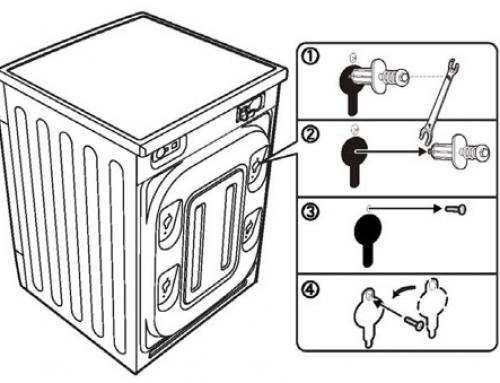 Lắp đặt máy giặt lồng ngang Panasonic
