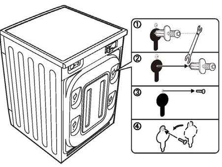 Ốc neo máy giặt lồng ngang panasonic inverter